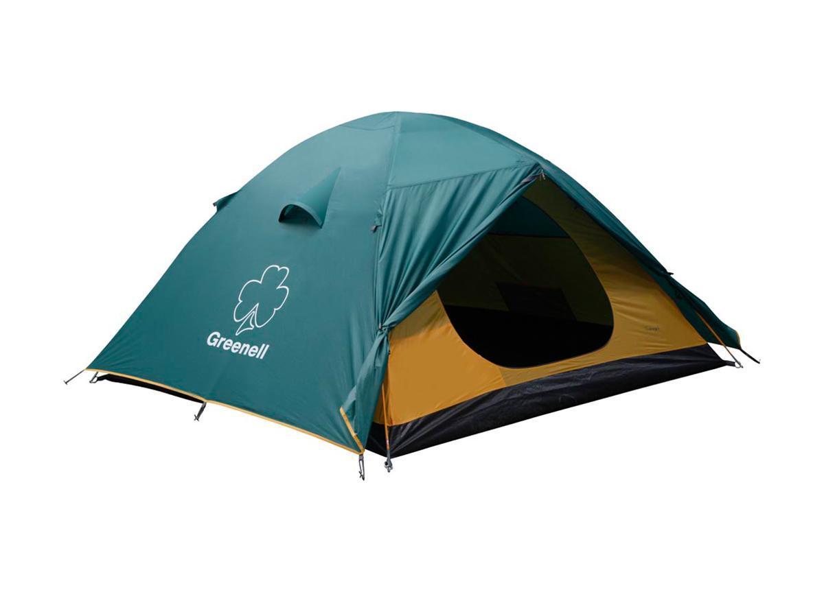Палатка Greenell Гори 2 Green25383-303-00Greenell Гори 2 - это универсальная двухместная палатка путешествий. Мобильно, комфортно, удобно! Имеет два входа и два тамбура. Проточная вентиляция. Особенности конструкции: Проклеенные швы Противомоскитная сетка Подвесная полка Характеристики: Вместимость: 2 человека. Размер палатки в разложенном виде (ДхШхВ): 305 см х 215 см х 115 см. Наружный тент: полиэстер Taffeta 190T, PU 3000 мм. Внутренняя палатка: полиэстер Taffeta 190T дышащий. Дно: Tarpauling. Каркас: дуги из фибергласса диаметром 7,9 мм. Вес: 3660 г. Размер в сложенном виде: 63 см х 14 см х 17 см. Изготовитель: Китай. Артикул: 25383-303-00.