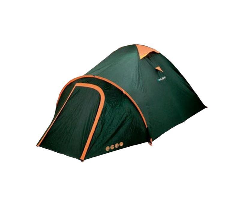 Палатка Husky Bizon 3 Dark GreenУТ-000047001Одна из палаток Husky Outdoor традиционной конструкции. Bizon 3 - является двухслойной однокомнатной палаткой с двумя входами и тамбуром, с внутренней конструкцией. Размер внешней палатки: 130 x 410 x 190 см. Размер внутренней палатки: 130 x 210 x 190 см. Основные характеристики: Количество мест: 3. Размер палатки: 130 см х 410 см х 190 см. Спальная комната: 210 см х 190 см. Количество входов: 2 шт. Дуги из фибергласа: 3 шт, диаметр 0,79 см. Материал тента: Polyester 185T с PU-покрытием, 3000 мм/кв. см. Материал дна: Polyester 190T с PU-покрытием, 6000 мм/кв. см. Материал внутренней палатки: Nylon 190T. Длина палатки в чехле: 45 см. Диаметр палатки в чехле: 15 см. Вес: 3700 г. Цвет: зеленый. Страна: Чехия. В комплект также входят стальные колышки, набор для ремонта и карман-сетка.