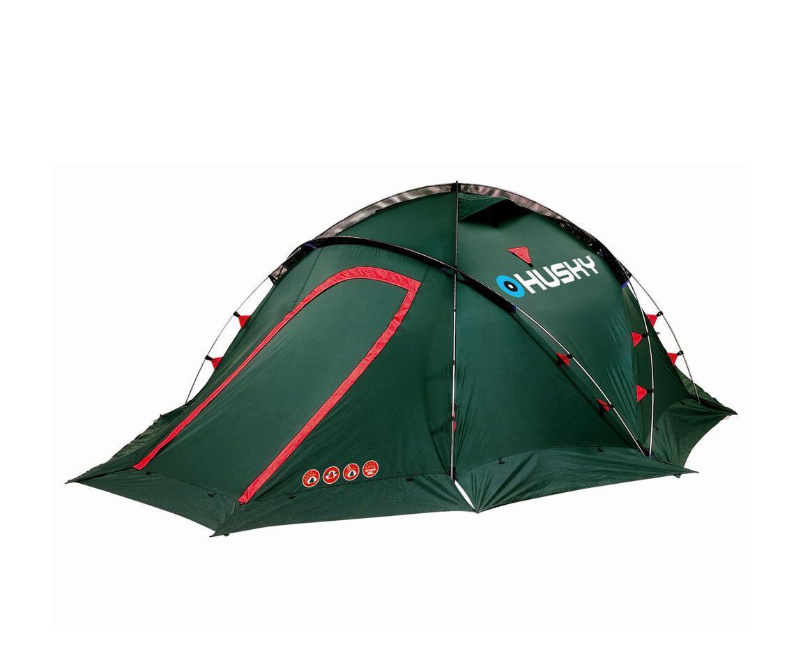 Палатка Husky Fighter 3-4 GreenУТ-000048372Экстремальная палатка Fighter 3-4 с двумя входами и тамбурами с наружным расположением дуг. Палатка защитит вас в любом месте и в любое время. Непромокаемые тент и дно, ветрозащитная юбка и карман-сетка будут незаменимы в экспедициях, длительных походах, при неблагоприятных погодных условиях. Внутренняя палатка оборудована противомоскитной сеткой. Прилагается ремнабор. Основные характеристики: Количество мест: 3-4. Высота: 120 см. Общая длина: 400 см. Общая ширина: 205 см. Спальная комната: 220 см х 205 см. Количество входов: 2. Материал тента: полиэстер RipStop 190T. Материал дна: полиэстер 190Т c PU-покрытием. Материал внутренней палатки: водоотталкивающий нейлон 190Т + противомоскитная сетка.