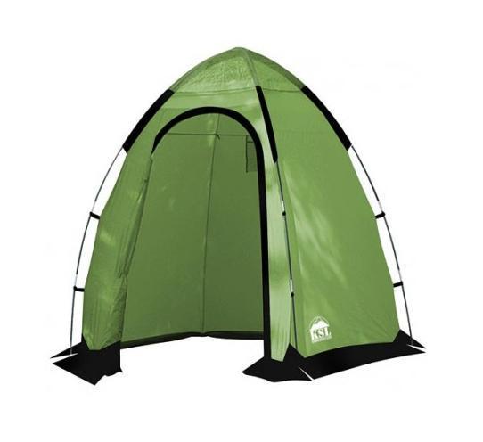 Палатка KSL Sanitary Zone Plus Green6159.0901Для современных кемпингов Палатка-шатер SANITARY ZONE PLUS - это дополнительный комфорт, который даже в природных условиях помогает заботиться о личной гигиене. Небольшие размеры и легкий вес позволяют применять этот шатер, как в стационарных лагерях, так и в передвижных палаточных городках. Благодаря дополнительной герметизации швов термоусадочной лентой модель можно использовать не только как санитарное, но и как душевое помещение. Из дополнительных удобств шатер SANITARY ZONE PLUS имеет вентиляционные окна, которые поддерживают внутри нее свежий воздух. И хотя данный шатер не имеет дна, от сквозняка он надежно защищен ветрозащитным пологом. Шатер изготовлен в соответствии со всеми современными стандартами. Ткань его тента пропитана специальным составом, препятствующим распространение огня. Собираясь на природу на несколько дней или в продолжительный поход, обязательно возьмите с собой шатер SANITARY ZONE PLUS. Вес в 3 кг может нести даже ребенок, а вот комфорт от его...