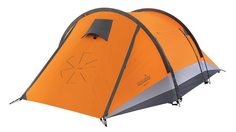 Палатка Norfin Glan 3 Orange-GrayNS-10110Трекинговая дуговая палатка с двумя входами и тамбуром. Легкая, компактная, комфортная, надежная. Яркий цвет делает палатку более заметной в условиях плохой видимости. Особенности: -двухслойная палатка с двумя входами и тамбуром; -входы продублированы антимоскитной сеткой; -кармашки для мелочей; -вентиляционные окна с ветровыми клапанами обеспечивают хорошую вентиляцию; -крючок для подвески фонаря; -все швы палатки герметизированы при помощи термоусадочной водонепроницаемой ленты; -веревки оттяжек со светоотражающей нитью; -специальный чехол-стяжка для фиксации каждой сложенной веревки оттяжки; -петли для фиксации скатанного входа; -площадь крепления нижних оттяжек усилена дополнительной вставкой. Наружный тент: RipStop Polyester 210T 70D PU. Внутренняя палатка: 190T Polyester дышащий. Дно: Polyester 210D Oxford PU. Каркас: дуги из фибергласса диаметром 8,5 мм.