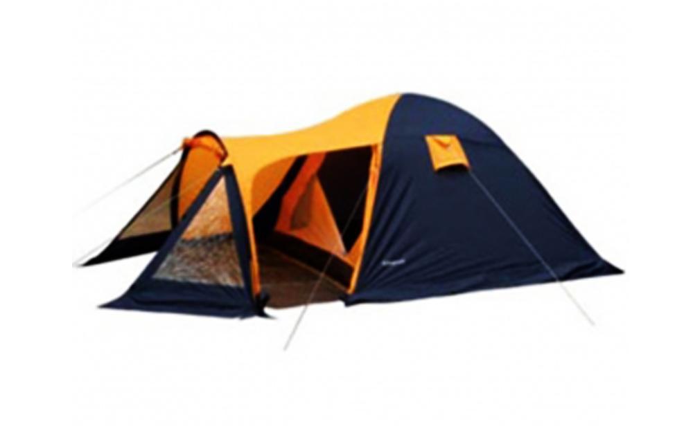 Палатка Reking T-024 Orange-Gray891980.30Четырехместная палатка Reking выполнена из двух слоев полиэстера, что позволяет хорошо удерживать тепло. Дуги изготовлены из прочного и легкого материала - фибергласа. Палатка с просторным жилым помещением и вместительным тамбуром предназначена для пешеходного классического туризма, активного отдыха и т.д. Упакована в чехол с удобной ручкой для переноски.