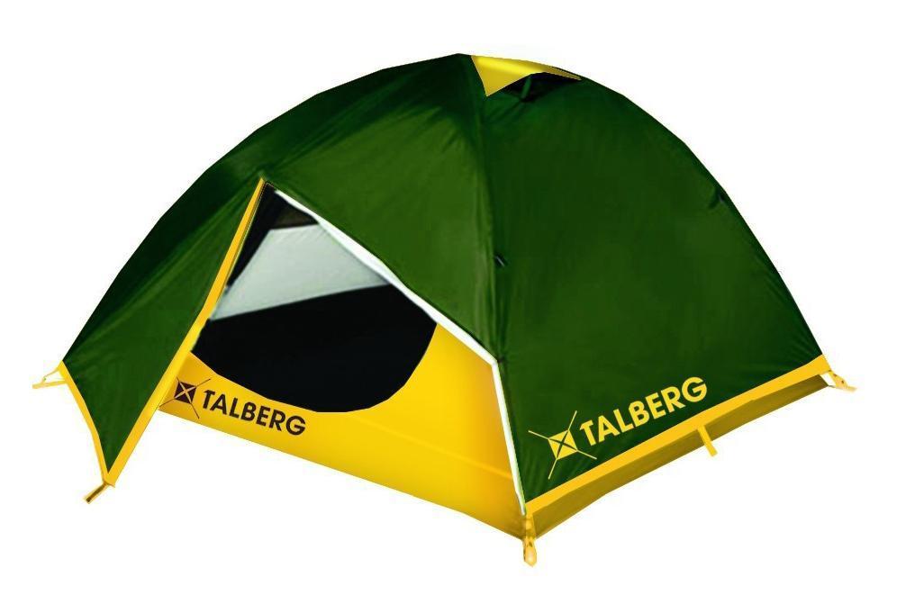 Палатка Talberg Boyard 3a026124Легкая двухслойная палатка Talberg Boyard 3 с двумя увеличенными тамбурами для вещей предназначена для пешего туризма и кемпинга.Внутренняя палатка выполнена из дышащего полиэстера, швы наружного тента проклеены.Вы несомненно оцените скорость, с которой может быть установлена эта палатка. Идеально подходит для трех туристов. Палатка упакована в сумку-чехол на застежке-молнии. Также прилагается инструкция по сборке палатки. Характеристики: Количество мест: 3. Размер палатки: 360 см х 230 см х 120 см. Спальная комната: 220 см х 180 см. Количество входов: 2. Дуги: HQ FiberGlass 8,5 мм. Материал внешнего тента: Polyester RipStop 190T/75D 4000 мм. Материал внутреннего тента: полиэстер. Материал дна: Polyester 195T/85D 7000 мм. Размер палатки в собранном виде: 58 см х 18 см х 18 см. Вес: 3,7 кг. Изготовитель: Китай.