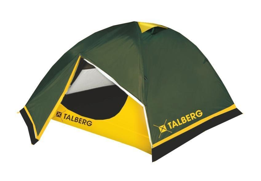 Палатка Talberg BOYARD PRO 3, цвет: зеленыйУТ-000058531Легкая двухслойная палатка Talberg \Boyard Pro 3\ с двумя увеличенными тамбурами и юбкой от ветра и насекомых предназначена для пешего туризма и кемпинга. Внутренняя палатка выполнена из дышащего полиэстера, швы наружного тента проклеены. Вы несомненно оцените скорость, с которой может быть установлена эта палатка. Идеально подходит для трех туристов. Состав материала: полиэстер, алюминий