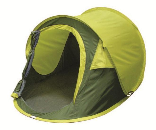 Палатка двухместная Trek Planet Moment 2, цвет: темно-зеленый, светло-зеленый70144Однослойная двухместная палатка Trek Planet Moment 2, мгновенно устанавливается! Особенности модели: Мгновенная установка; Тент палатки из полиэстера, с пропиткой PU водостойкостью 1000 мм, надежно защитит от дождя и ветра; Все швы проклеены; Каркас выполнен из прочного стекловолокна; Дно изготовлено из прочного армированного полиэтилена; Москитная сетка на входе в палатку в полный размер двери; Вентиляционное клапана по периметру палатки не дают скапливаться конденсату на стенках палатки; Внутренние карманы для мелочей; Для удобства транспортировки и хранения предусмотрен чехол с двумя ручками, закрывающийся на застежку-молнию. Размер в сложенном виде: 80 см х 10 см х 10 см.