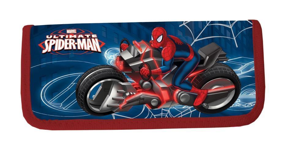 Пенал жесткий тканевый, с креплениями для канцелярских принадл, размер20х9х3 см, Spider-man72523WDПенал жесткий тканевый, с креплениями для канцелярских принадл. Размер20 х 9 х 3 см, Spider-man Цвет: .Тип: Жесткий пенал.Пол: Для мальчиков .Возраст: Младшие классы .Форма: .Материал: Полиэстер, Картон.Размер: 200х90х30 мм.