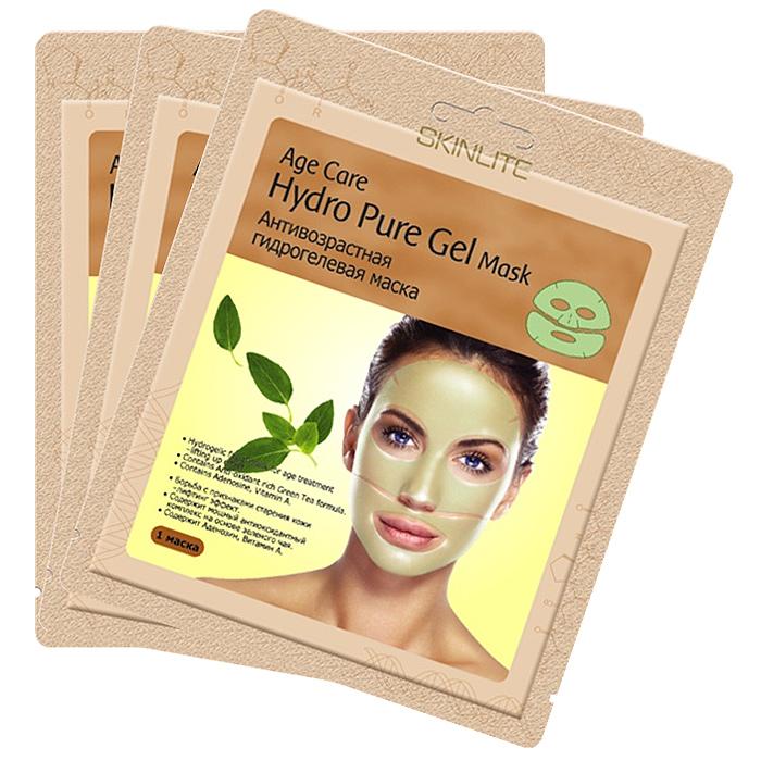 Skinlite Набор гидрогелевых масок для лица Age Care, антивозрастных, 3 штSL-252Анитивозрастная гидрогелевая маска Age Care: Борьба с признаками старения кожи – лифтинг эффект. Содержит мощный антиоксидантный комплекс на основе зеленого чая. Содержит Аденозин, Витамин А. Уникальная основа из тончайшего гидрогеля позволяет маске абсолютно плотно прилегать к коже лица и, благодаря этому, достигается максимальный эффект проникновения активных ингредиентов в клетки кожи. Входящие в состав маски Аденозин, экстракт зеленого чая, витамин А и другие натуральные компоненты оказывают глубоко увлажняющее, восстанавливающее воздействие и эффективно борются с признаками старения кожи. Во время процедуры Вы заметите, что вместе с поглощением кожей активных ингредиентов, маска становится тоньше. Результат: После применения маски кожа выглядит значительно моложе: поверхностные и глубокие морщины разглаживаются, повышается упругость и эластичность кожи. Способ применения: 1. Тщательно вымойте и...