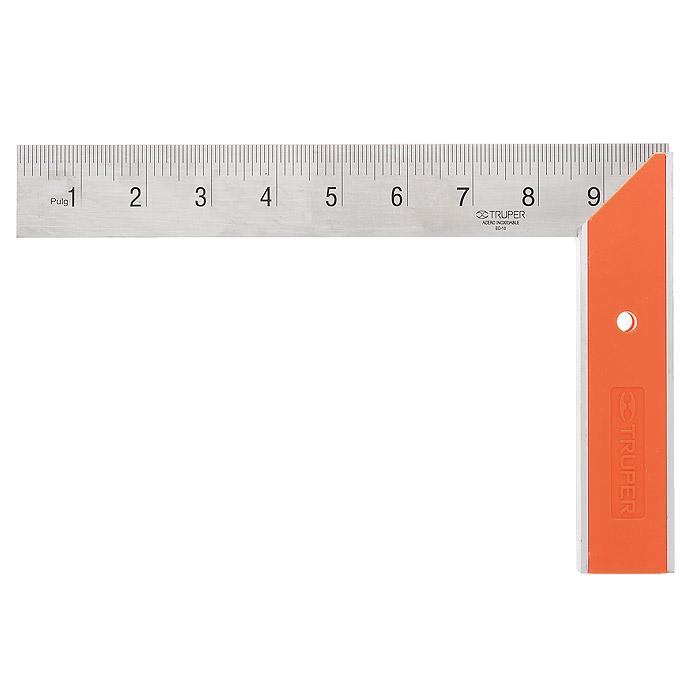 Угольник столяра Truper, 25,5 см х 16,5 см EC-10