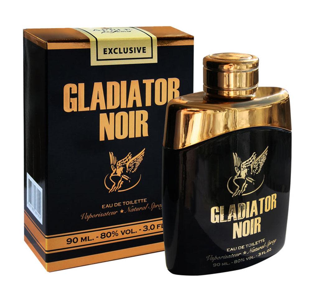 Apple Parfums Туалетная вода Gladiator Noir, мужская, 90 мл1301210Аромат Gladiator Noir от Apple Parfums можно носить и в дневное время, но больше он подходит в качестве вечернего аромата для ночного клуба. Лучше всего раскрывается холодной осенью и зимой. Основные ноты: грейпфрут, мята, мандарин, роза, корица, специи, кожа, амбра, пачули.Ключевые словаЧувственный, пряный!Туалетная вода - один из самых популярных видов парфюмерной продукции. Туалетная вода содержит 4-10%парфюмерного экстракта. Главные достоинства данного типа продукции заключаются в доступной цене, разнообразии форматов (как правило, 30, 50, 75, 100 мл), удобстве использования (чаще всего - спрей). Идеальна для дневного использования.Товар сертифицирован.