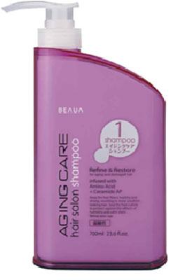 Beaua Шампунь Aging Care, антивозрастной уход за волосами, 700 мл017429Шампунь Beaua Aging Care- это антивозрастной уход за волосами, средство и способ продления, сохранения молодости волос и кожи головы, сделанный на основе маточного молочка. Маточное молочко содержит много витаминов, особенно группы В, аминокислот, высокоактивных веществ, которые характеризируют его как биокатализатор жизненных процессов. В молочке выявлено много ферментов (инвертаза, амилаза, глюкозооксидаза, холинестераза и другие), биоптерин, карбоновые и оксикарбоновые кислоты. Большое значение имеют макро- и микроэлементы, которые содержатся в сравнительно больших количествах (калий, натрий, кальций, фосфор, магний, железо, марганец, медь, никель, кобальт, кремний, хром, висмут). Благодаря такому богатому составу, шампунь на основе маточного молочка оздоравливает и омолаживает волосы, восстанавливая их жизненную силу и улучшает рост. Гидролизованные протеины шелка - это биологически активные вещества, которые получают методом гидролиза из шелковых волокон. Они улучшают...
