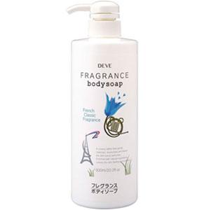 Deve Гель для душа French Classic Fragrance, ароматизированный, 600 млFS-00103Гель для душа Deve French Classic Fragrance- нежное жидкое средство, очищающее кожу, окутывая ее роскошным ароматом, который таит в себе энергию и радость молодости, волнует и завораживает. В основе геля лежит особая формула, которая делает кожу шелковистой и нежной, сохраняет ее естественную увлажненность. Классический французский аромат долгое время остается на коже и является неотъемлемой частью вашего образа. Начало парфюмерной композиции окутывает цветочной пылью с терпкими нотами бергамота, переходя в таинственный оттенок аромата полевых цветов. Шлейф аромата: ваниль, пачули подарит удивительную свежесть на весь день. При возникновении аллергических реакций на коже прекратите использование средства. Избегайте попадания в глаза.Товар сертифицирован.