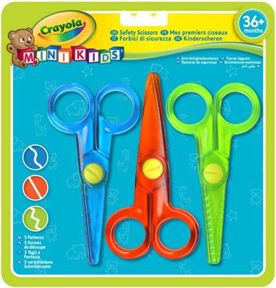 """Набор детских ножниц """"Crayola"""", 3 шт 81-8119"""
