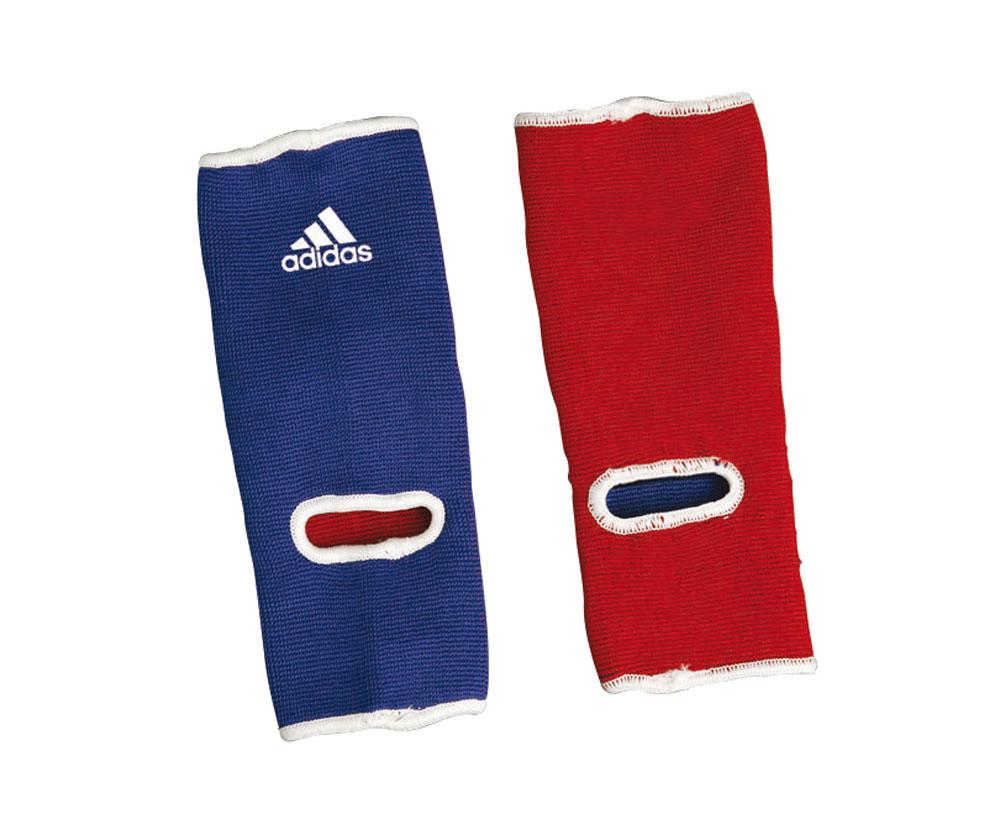 Защита голеностопа двухсторонняя Adidas Reversible Ankle Pad, цвет: сине-красныйadiCHT01