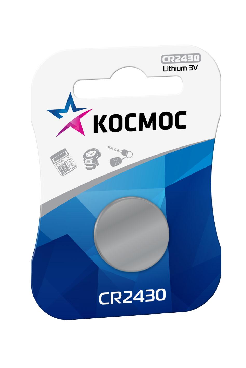 Элемент питания Космос CR 2430