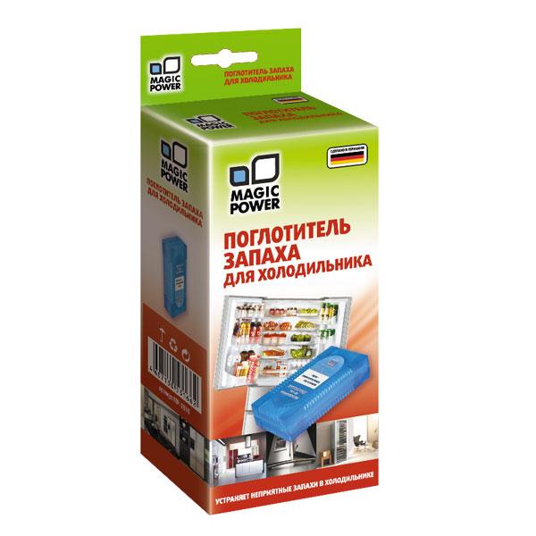 Поглотитель запаха для холодильника Magic Power, 78 гMP-2010Высокоэффективное средство для поглощения запахов в холодильнике Magic Power содержит гранулы активированного угля, являющегося лучшим из адсорбентов. Активированный уголь способен полностью поглощать неприятные запахи, даже таких продуктов, как чеснок, лук, сыр, рыба и т.д., не выделяя собственных запахов. Не воздействует на продукты, сохраняя их натуральные ароматы.