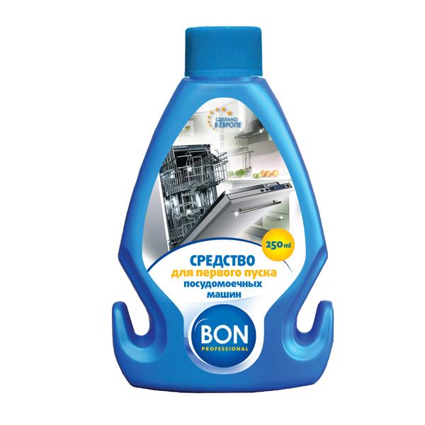 Средство для первого пуска посудомоечной машины Bon, 250 млBN-844Средство для первого пуска посудомоечной машины Bon создано для тщательной очистки посудомоечных машин перед началом эксплуатации. Специальные компоненты средства полностью растворяют пыль и другие загрязнения различного происхождения, всегда присутствующие в технике после производства, а также устраняют специфический технический запах. Подходит для всех типов посудомоечных машин.