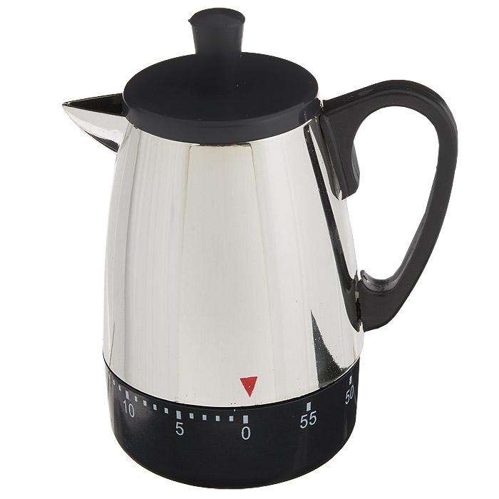 Таймер кухонный Чайник, на 60 минут820-011Кухонный таймер Чайник изготовлен из цветного пластика. Таймер выполнен в виде чайника. Максимальное время, на которое вы можете поставить таймер, составляет 60 минут. После того, как время истечет, таймер громко зазвенит. Оригинальный дизайн таймера украсит интерьер любой современной кухни, и теперь вы сможете без труда вскипятить молоко, отварить пельмени или вовремя вынуть из духовки аппетитный пирог.