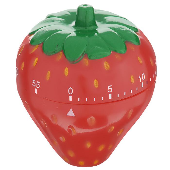Таймер кухонный Клубника, на 60 минут820-002Кухонный таймер Клубника изготовлен из цветного пластика. Таймер выполнен в виде клубники. Максимальное время, на которое вы можете поставить таймер, составляет 60 минут. После того, как время истечет, таймер громко зазвенит. Оригинальный дизайн таймера украсит интерьер любой современной кухни, и теперь вы сможете без труда вскипятить молоко, отварить пельмени или вовремя вынуть из духовки аппетитный пирог.