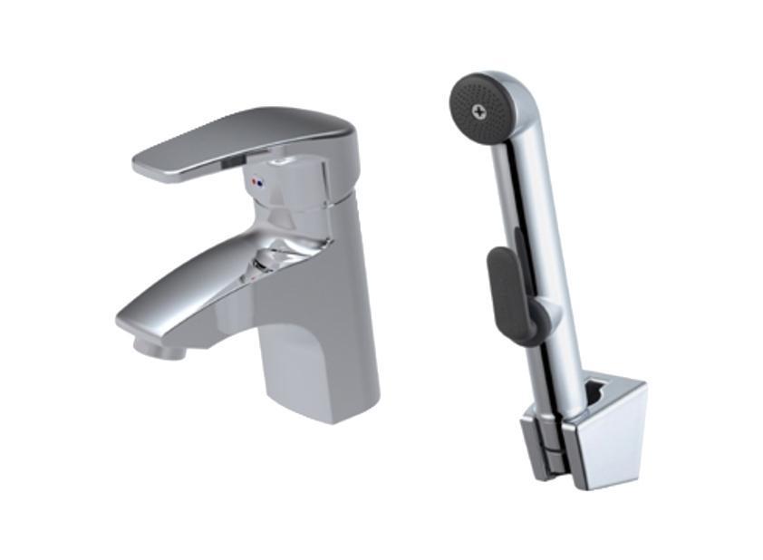 Смеситель для умывальника с гигиеническим душем, Sicily, IDDIS, SICSB00I0868/5/3Аэратор со специальной сеткой для снижения шума.Керамический картридж, диаметр 40 мм.В комплекте: гибкая подводка, крепеж, гигиеническая лейка, держатель для лейки c креплением, шланг 1,5 м из нержавеющей стали. Материал: латунь,полиамид, стекловолокно, керамика, пластик, нержавеющая сталь