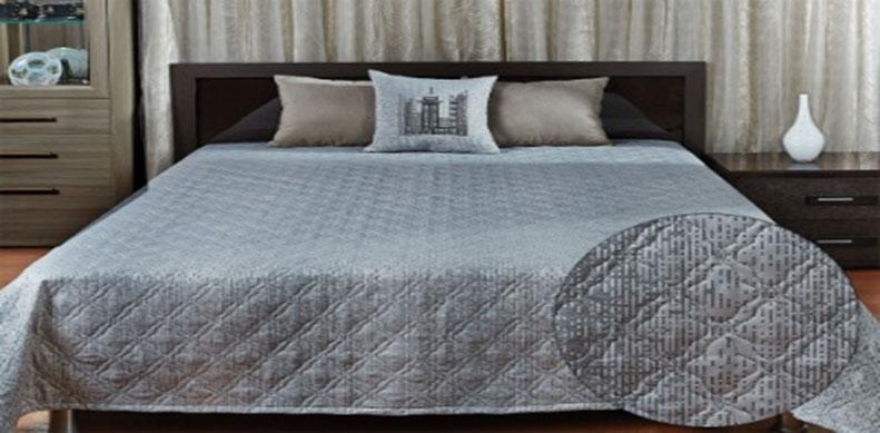 Покрывало Primavelle Livia, цвет: серый, 240 см х 240 см251805022-02hСтильное покрывало Primavelle Livia, выполненное из вискозы и полиэстера, прекрасно дополнит ваш интерьер. Оригинальный жаккардовый рисунок покрывала и гладкий приятный на ощупь материал подчеркнут индивидуальность вашей спальни. Изделие изготовлено по современной технологии безниточного соединения тканей Ультрастеп. Такой метод стежки значительно продлевает срок службы покрывала и добавляет ему особую изюминку, благодаря художественной стежке. Покрывало упаковано в пластиковую сумку-чехол, закрывающуюся на застежку-молнию.
