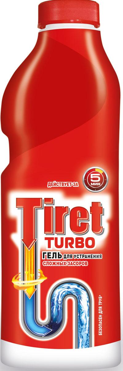 Гель для удаления засоров Tiret Turbo, 1 л7506511Чистящее средство Tiret Turbo предназначено для очистки канализационных труб. Гель устраняет засоры в трубах за 5 минут, а также дезинфицирует. Безопасен для всех металлических и пластиковых труб. Характеристики: Объем: 1 л. Изготовитель: Россия. Товар сертифицирован.