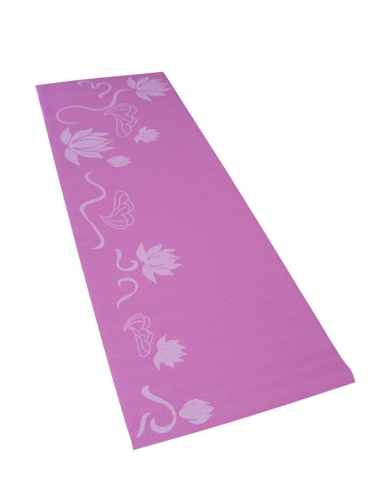 Коврик для фитнеса и йоги Alonsa, цвет: розовый, 173 см х 60 см х 0,5 см269639Коврик для фитнеса и йоги Alonsa представляет собой мягкое напольное покрытие для занятий йогой и другими видами фитнеса. Коврик выполнен из материала повышенной эластичности. Его легко мыть и хранить, скатав в рулон. Комфортный и приятный коже коврик для йоги позволяет повысить эффективность от тренировок. Специальная обработка материала AntiSlick предотвращает скольжение
