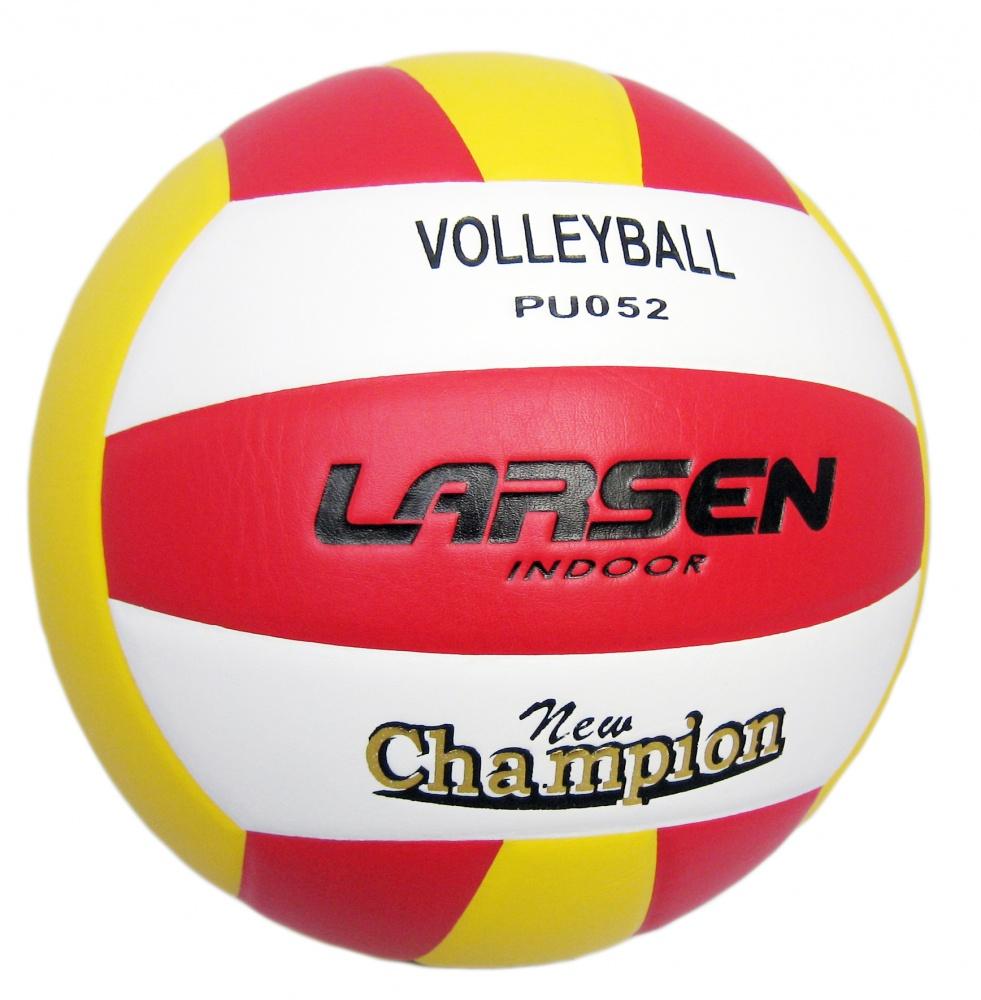 Мяч волейбольный Larsen, цвет: желтый, красный, белый. 9708297082