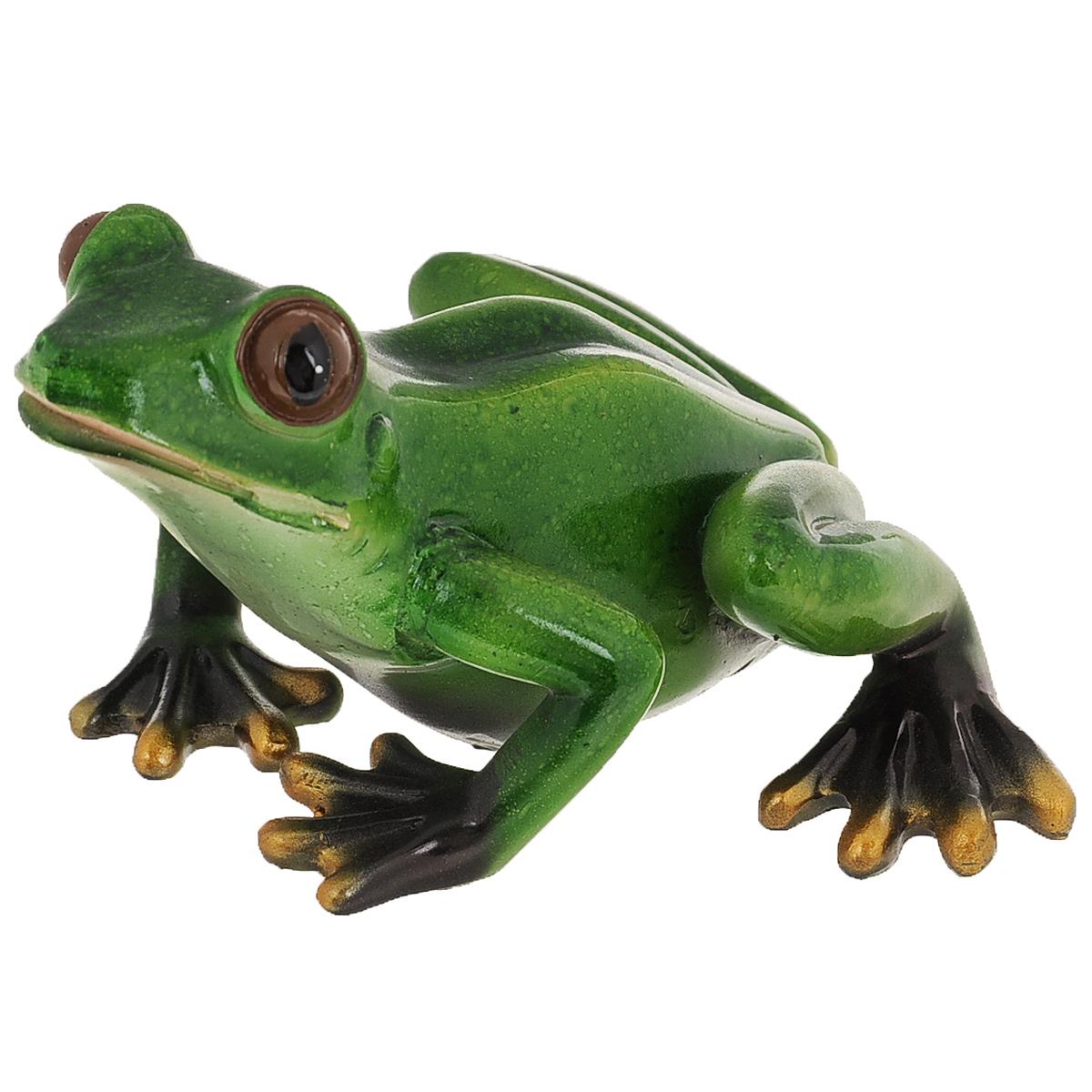 Статуэтка Molento Зеленая лягушка, высота 7,7 см512-138