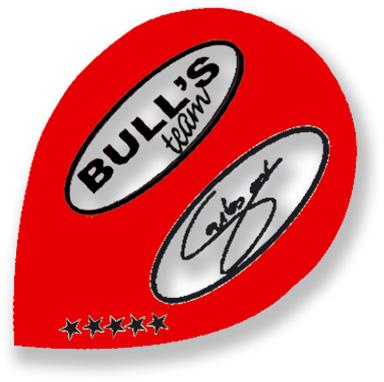 "Набор оперений для дротиков Bull's ""Five-Star Flights Pear. Rodrigues"", 3 см х 4,1 см 51889"