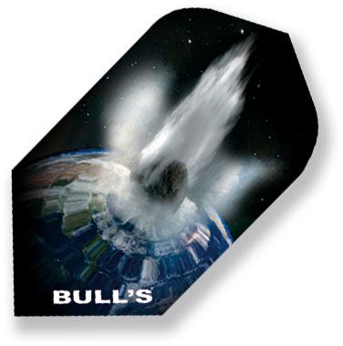 """Набор оперений для дротиков Bull's """"Motex-Flights Slim"""", 2,3 см х 4,3 см. 52258"""