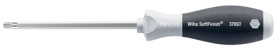 Отвертка SoftFinish Inox из нержавеющей стали T30 х 115 мм Wiha 32623  отвертка softfinish inox из нержавеющей стали t27 х 115 мм wiha 32622