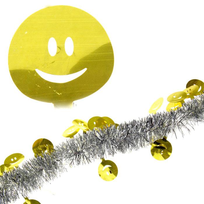 Мишура новогодняя Sima-land, цвет: серебристый, золотистый, диаметр 5 см, длина 2 м. 279384279384Мишура новогодняя Sima-land, выполненная из двухцветной фольги, поможет вам украсить свой дом к предстоящим праздникам. Мишура армирована, то есть имеет проволоку внутри и способна сохранять приданную ей форму. Новогодняя елка с таким украшением станет еще наряднее. Новогодней мишурой можно украсить все, что угодно - елку, квартиру, дачу, офис - как внутри, так и снаружи. Можно сложить новогодние поздравления, буквы и цифры, мишурой можно украсить и дополнить гирлянды, можно выделить дверные колонны, оплести дверные проемы. Коллекция декоративных украшений из серии Зимнее волшебство принесет в ваш дом ни с чем несравнимое ощущение праздника! Создайте в своем доме атмосферу тепла, веселья и радости, украшая его всей семьей.