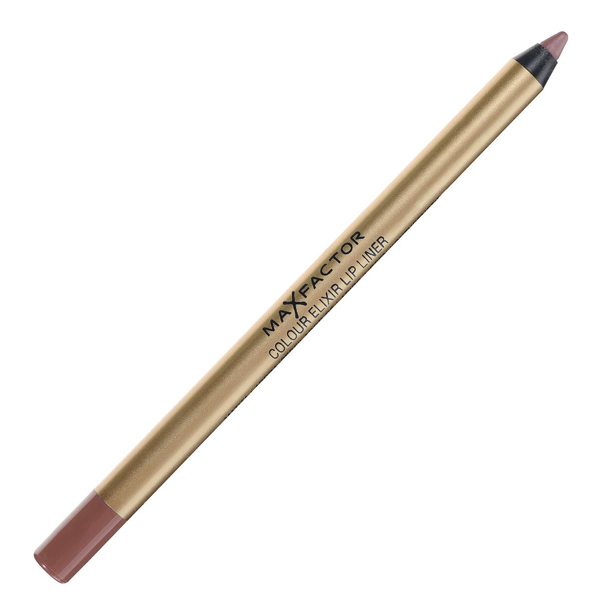 Max Factor Карандаш для губ Colour Elixir Lip Liner, тон №14 brown n nude, цвет: коричневый81440156Секрет эффектного макияжа губ - правильный карандаш. Он мягко касается губ и рисует точную линию, подчеркивая контур и одновременно ухаживая за губами. Карандаш для губ Colour Elixir подчеркивает твои губы, придавая им форму. - Роскошный цвет и увлажнение для мягких и гладких губ. - Оттенки подходят к палитре помады Colour Elixir. - Легко наносится. 1. Выбирай карандаш на один тон темнее твоей помады 2. Наточи карандаш и смягчи кончик салфеткой 3. Подведи губы в уголках, дугу Купидона и середину нижней губы, затем соедини линии 4. Нанеси несколько легких штрихов на губы, чтобы помада держалась дольше.