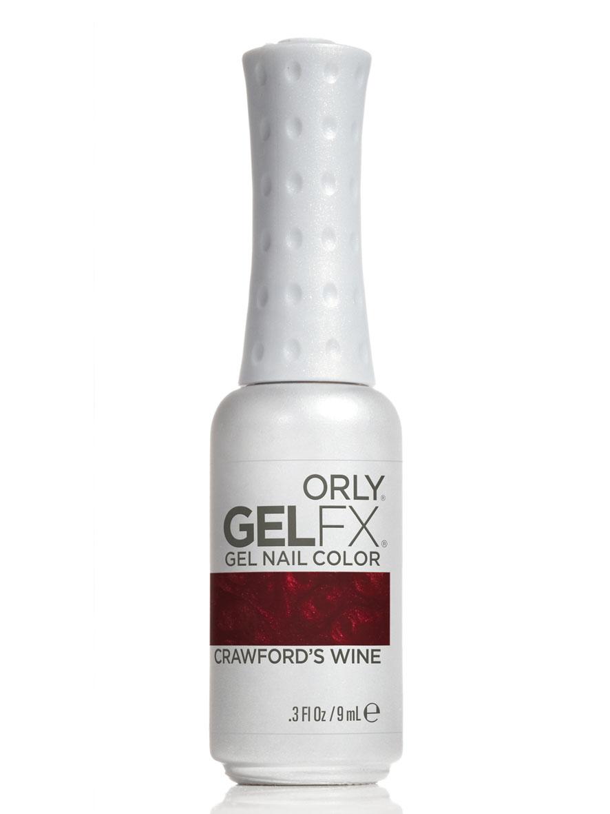 Orly Гель-лак для ногтей Gel FX, тон № 53 Crawfords Wine, 9 мл30053Гель-маникюр Gel FX - это инновационная улучшенная формула лака, обладающая достоинствами геля, в которой сочетаются простота нанесения и снятия, невероятная стойкость в течение 2-х недель и ослепительный блеск. Этот уникальный продукт не имеет аналогов у других производителей, так как только его неповторимая формула, богатая витаминами A и E и провитамином В5, дарит потрясающий уход, исключает возникновение проблем с ногтями, обладает свойством самовыравнивания ногтевой пластины, способствует укреплению и защите структуры натурального ногтя. Гель-маникюр Gel FX отмечен значком 3 free: он не содержит в своем составе вредных для здоровья составляющих, таких как толуол, дибутилфталат и формальдегид. Теперь цветное покрытие ногтей ухаживает за ногтями! Каждое из 32 цветных покрытий представлено в элегантном стильном флаконе, оттенок которого соответствует цвету лака из палитры ORLY. Товар сертифицирован.