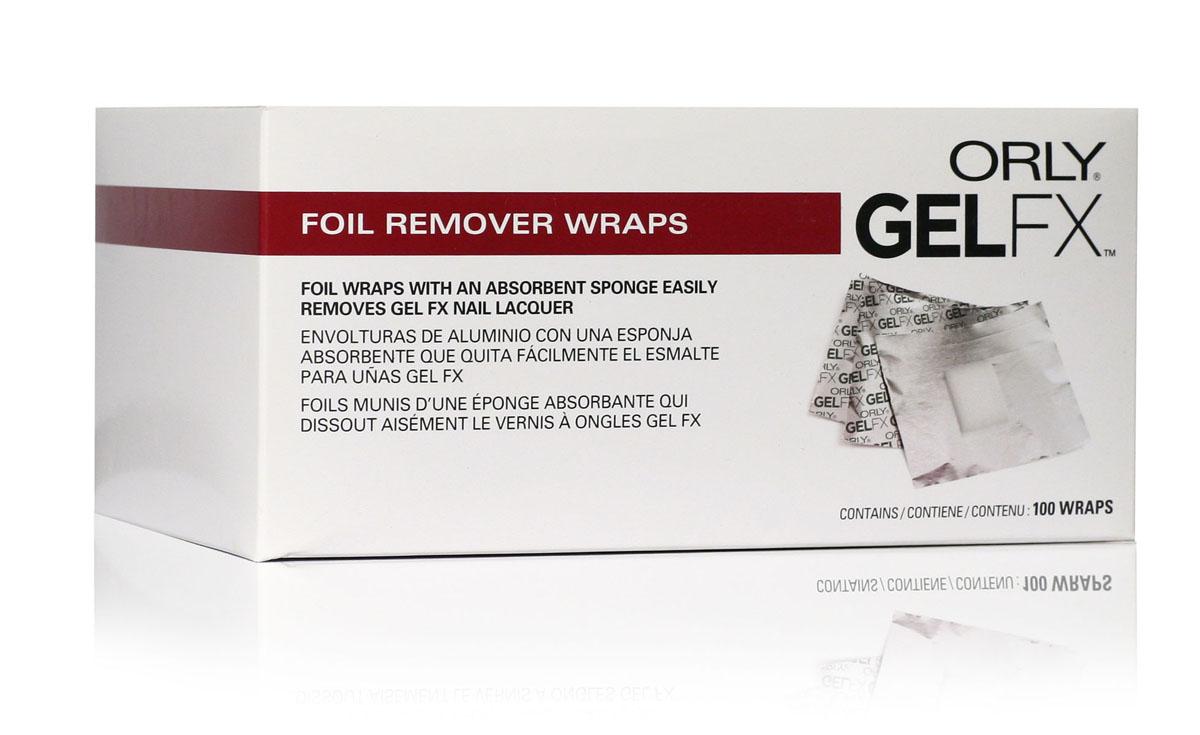 Orly Спонжи для удаления гель-лака Gel FX, 100 шт33100Спонжи Gel FX представляют собой фольгу с зафиксированным спонжем для легкого удаления гель-маникюра Gel FX с ногтей. Это позволяет избежать контакта жидкости с кожей пальца при растворении геля. Уникальность этих спонжей заключается в том, что они отлично создают парниковый эффект, что способствует лучшему размягчению гель-маникюра Gel FX. Товар сертифицирован.