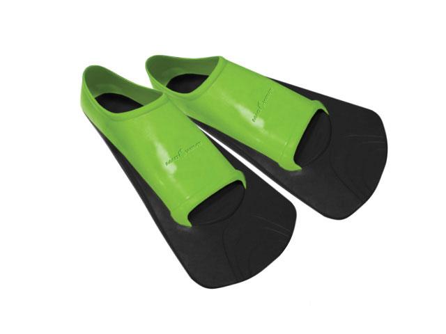 Ласты тренировочные для плавания Mad Wave Training II Rubber, цвет: черный, зеленый. Размер 42-4410008583Короткие резиновые ласты Mad Wave Training II Rubber предназначены для тренировочного плавания. Особенности: Натуральная резина высокого качества. Длительный срок службы. Мягкая, удобная анатомическая посадка. Разработаны для плавания и тренировок.