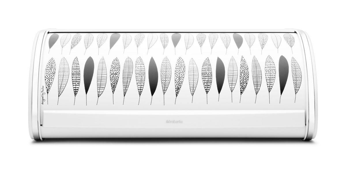"Хлебница ""Brabantia"", 45 см х 26 см х 17 см, цвет: белый 484827"