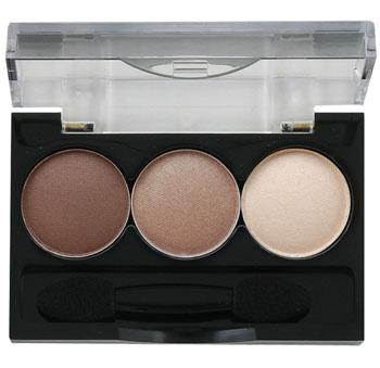 Ninelle Тени для век Smoky eyes, 3 цвета, тон №23, 3х0,8 г тени ninelle тени для век luxe 417