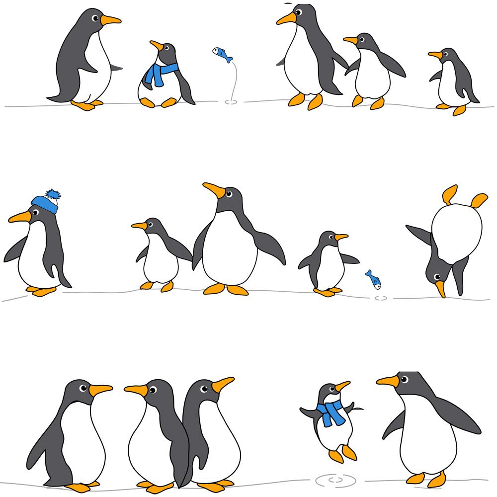 Штора для ванной комнаты Tatkraft Penguins, 180 см х 180 см18198Штора для ванной Tatkraft Penguins изготовлена из PEVA - водонепроницаемого, мягкого на ощупь и прочного материала. Не содержит ПВХ. Изделие оформлено изображением забавных пингвинов. Специальная водоотталкивающая пропитка позволяет каплям не задерживаться на поверхности, а быстро стекать вниз. Антигрибковое покрытие предотвращает появление плесени и продлевает срок службы. Штора быстро сохнет, легко моется и обладает повышенной износостойкостью. В комплекте имеется 12 овальных пластиковых колец. Два магнита-утяжелителя по углам обеспечивают лучшую фиксацию. Штора для ванной Tatkraft порадует вас своим ярким дизайном и добавит уюта в ванную комнату.