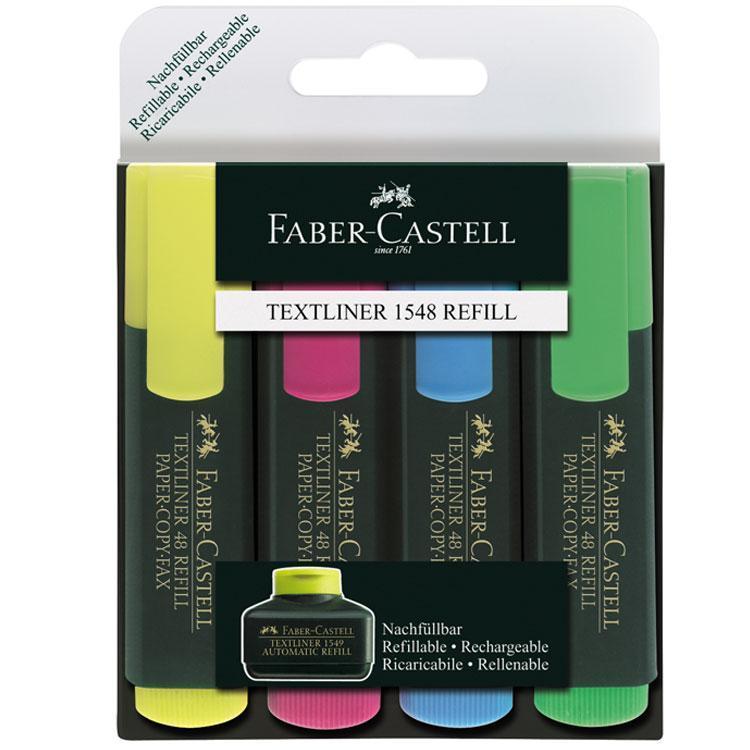 Faber-Castell Набор текстовыделителей Textliner 4 цвета 154804