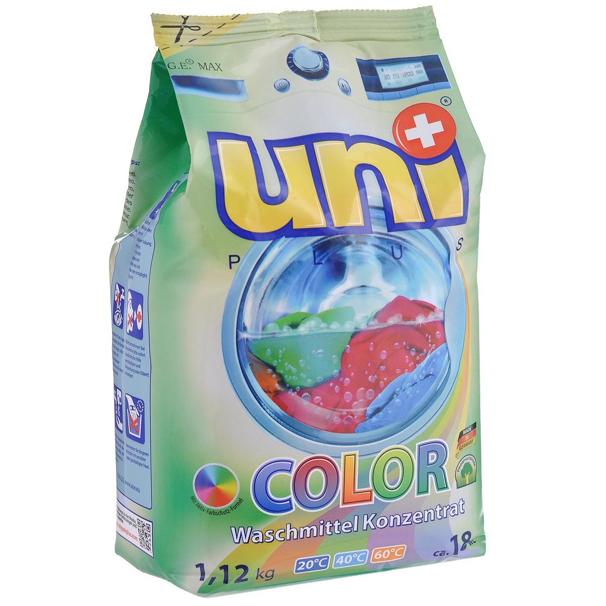 Стиральный порошок Uniplus Color, концентрированный, 1,12 кг200612
