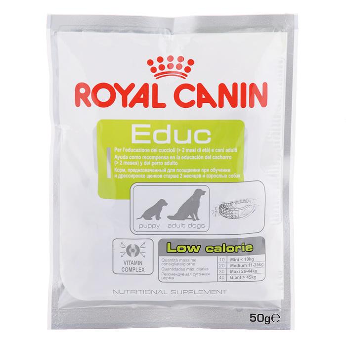 """Лакомство для собак Royal Canin """"Educ"""", для дрессировки, 50 г 1022"""