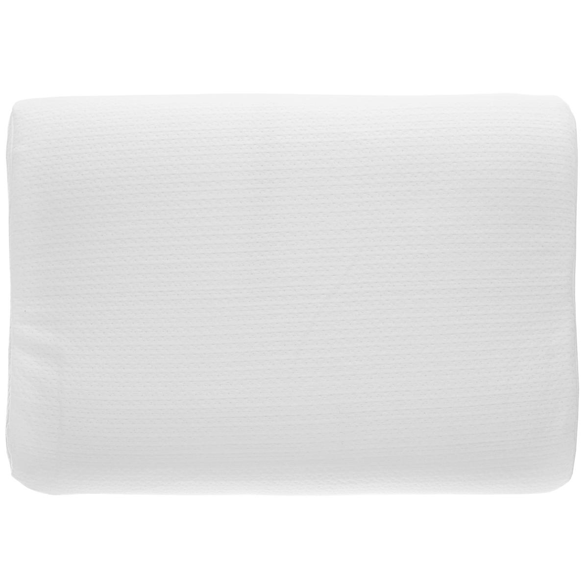 Подушка анатомическая Райтон Калиго, низкая, цвет: белый, 40 х 60 см7497