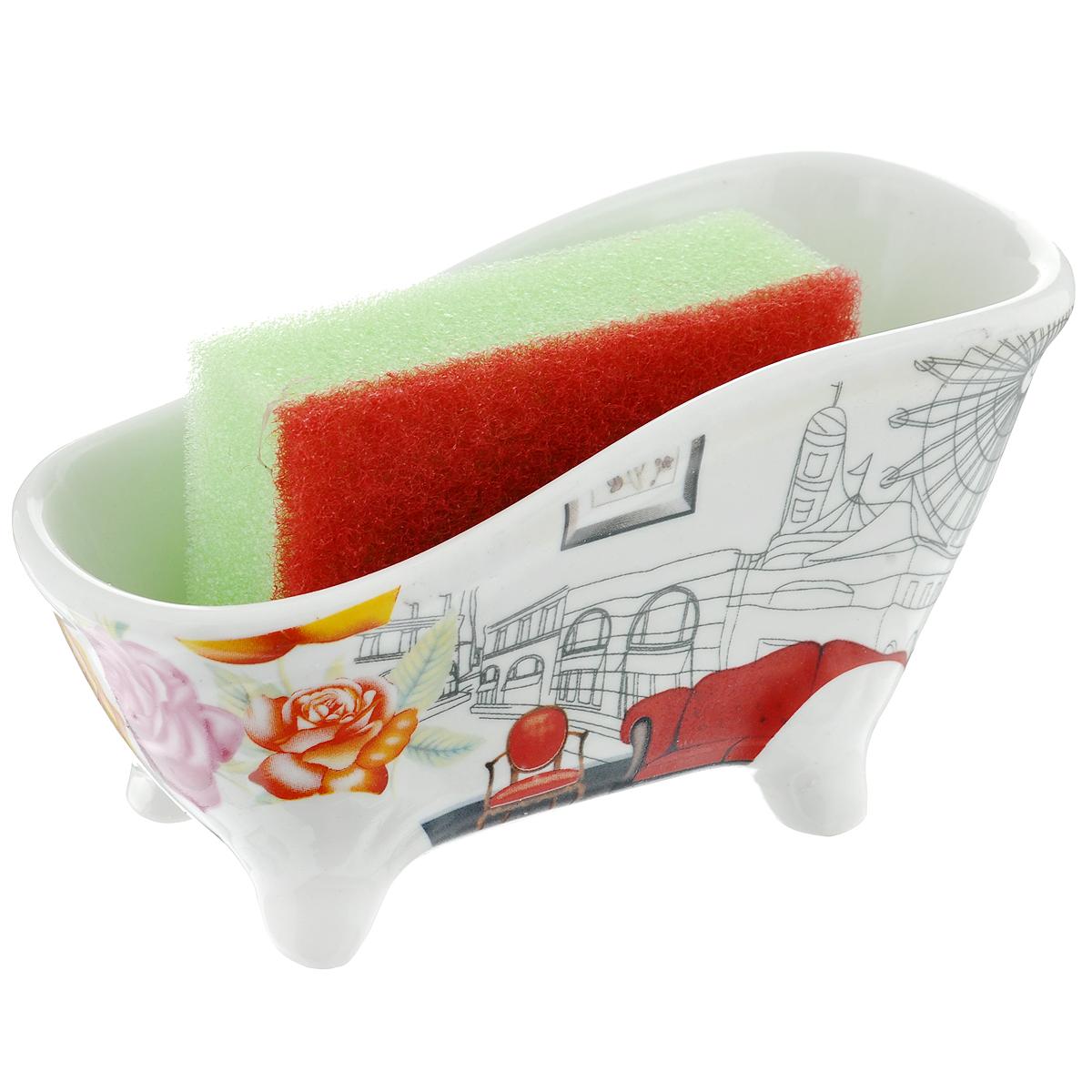 Набор для мытья посуды Besko Амалия, 2 предмета. 532-154532-154
