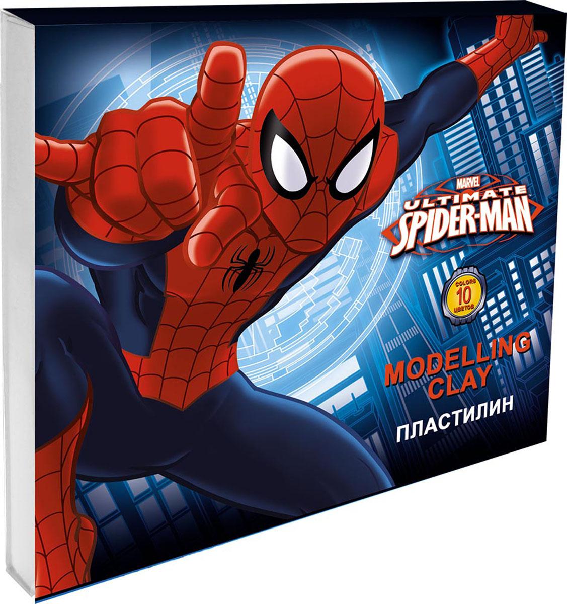 Пластилин Spider-Man, 10 цветов72523WDПластилин Spider-Man - это отличная возможность познакомить ребенка с еще одним из видов изобразительного творчества, в котором создаются объемные образы и целые композиции.В набор входит пластилин 10 ярких цветов (белый, желтый, красный, розовый, синий, голубой, темно-зеленый, черный, светло-зеленый, коричневый) и пластиковый стек.Цвета пластилина легко смешиваются между собой, и таким образом можно получить новые оттенки. Пластилин имеет яркие, красочные цвета и не липнет к рукам.Техника лепки богата и разнообразна, но при этом доступна даже маленьким детям. Занятия лепкой не только увлекательны, но и полезны для ребенка. Они способствуют развитию творческого и пространственного мышления, восприятия формы, фактуры, цвета и веса, развивают воображение и мелкую моторику.