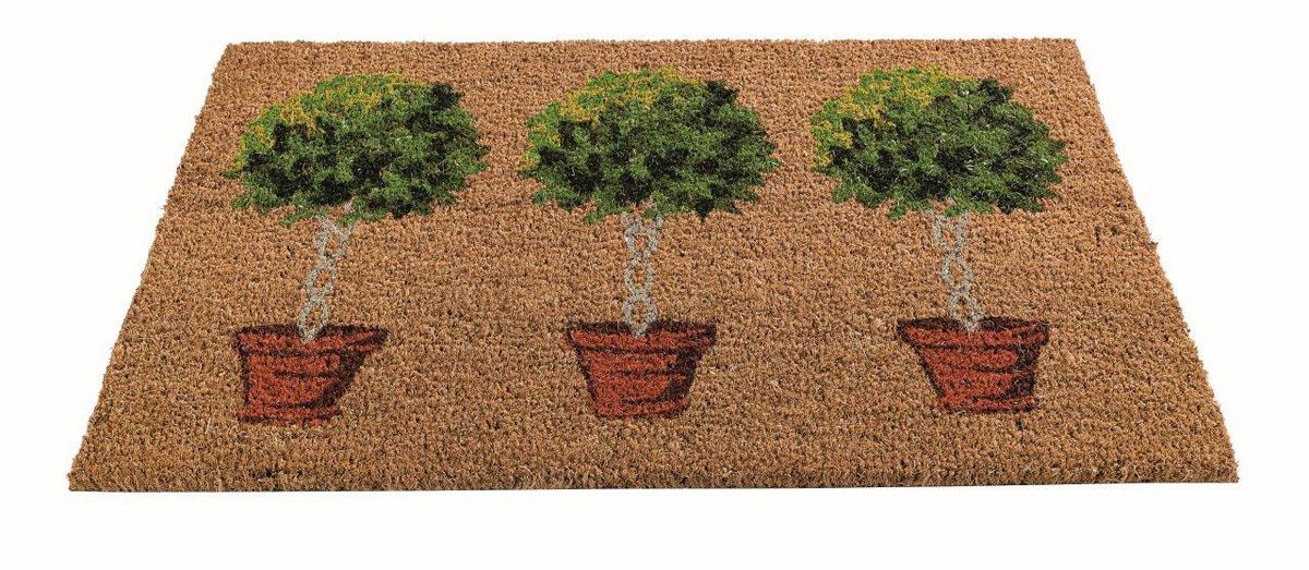 Коврик придверный Gardman Bay Tree, 45 см х 75 смS03301004Придверный коврик Gardman Bay Tree изготовлен из кокосового волокна с основой из ПВХ. Имеет жесткий ворс. Устойчив к любым погодным условиям. Отличается прочностью, износоустойчивостью и долгим сроком службы. Идеально подходит для создания уюта.