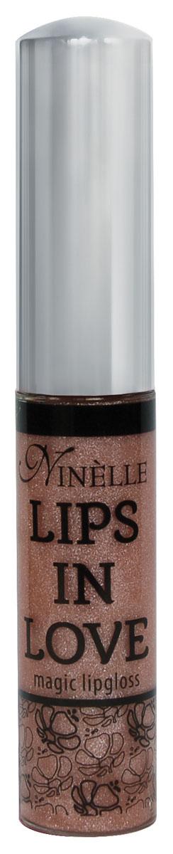 Ninelle Блеск для губ Lips in Love, тон № 23, 10 мл758N10467Блеск для губ Lips in Love придает губам дополнительный объем и насыщенный цвет. Гипоаллергенный. Товар сертифицирован.