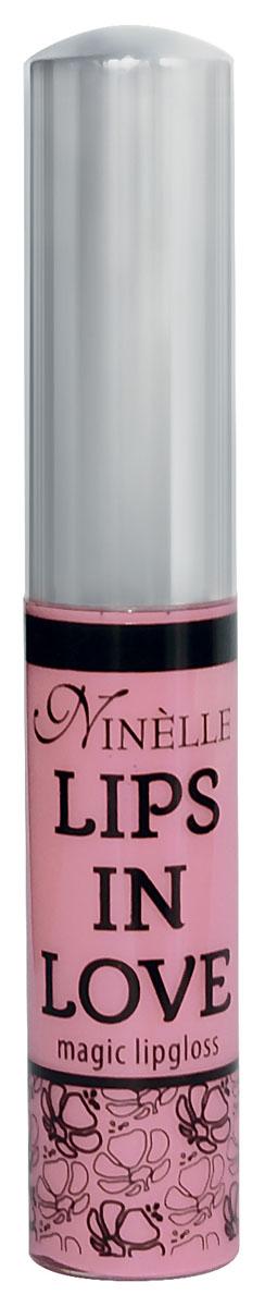 Ninelle Блеск для губ Lips in Love, тон № 24, 10 мл002722Блеск для губ Lips in Love придает губам дополнительный объем и насыщенный цвет. Гипоаллергенный. Товар сертифицирован.