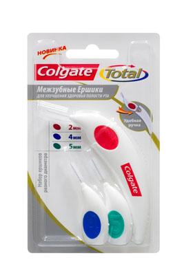 Межзубные ершики COLGATE Total 2, 4, 5 ммFCH59013Межзубные ершики разных диаметров улучшают здоровье полости рта и станут важной частью ежедневного ухода. Уникальный дизайн Tri-Proxi щетинок специально разработан для обеспечения высокоэффективной чистки. При правильном использовании помогает эффективно удалять зубной налет в межзубных промежутках, наиболее подверженных развитию кариеса. При использовании вместе с ручкой облегчает доступ в труднодоступные промежутки между зубами. Компактный размер идеален для применения вне дома. Характеристики: Диаметр ершика: 2 мм, 4 мм, 5 мм. Длина корпуса ершика в собранном виде (насадка внутри): 8 см. Материал: пластик, полиэстер. Изготовитель: Швейцария. Артикул: MBCINME01. Товар сертифицирован.