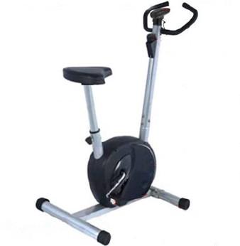 Велотренажер Sport Elit, цвет: серый, 107,5 см х 50 см х 125 смWRA523700Велотренажер Sport Elit предназначен для тренировки ног. Он имеет магнитную регулируемую систему изменения нагрузки. Компьютер определяет время тренировки, скорость, дистанцию и потраченные калории.